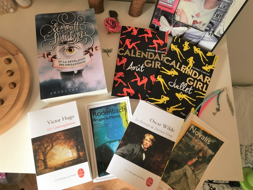 2017 - Book haul juillet (copie)