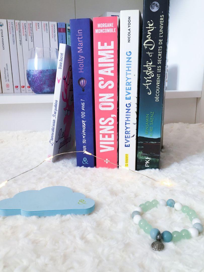 Give Me Five Books - 5 livres parfaits pour l'été