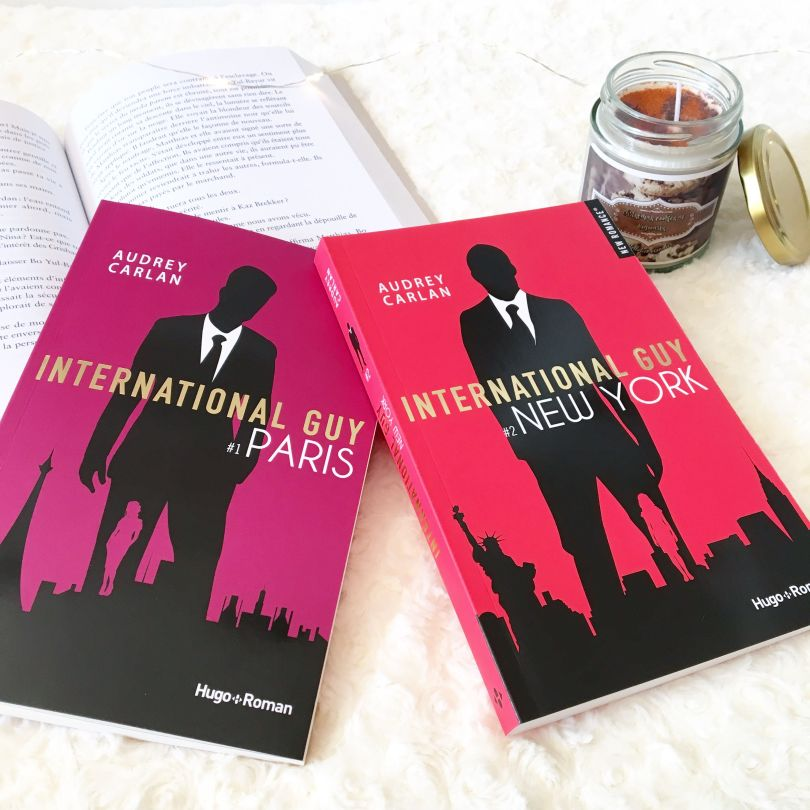 Hugo Roman - International Guy, tome 1: Paris & tome 2: New York - Audrey Carlan