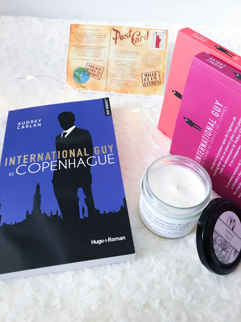 Hugo Roman - International Guy, tome 3: Copenhague d'Audrey Carlan