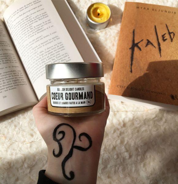 Mille et un livres - Bougie Coeur Gourmand