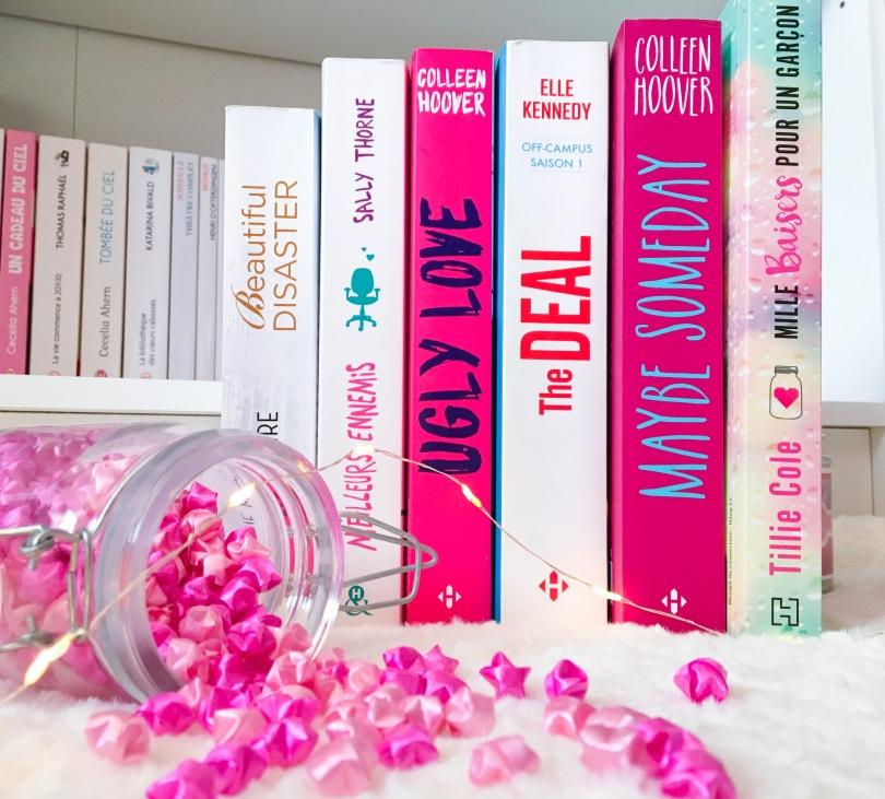Top 6 - Les romances que vous devez lire #1 (Beautiful Disaster, Meilleurs Ennemis, Ugly Love, The Deal, Maybe Someday, Mille baisers pour un garçon)
