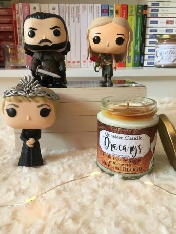 Quacker Candle - Bougie Dracarys