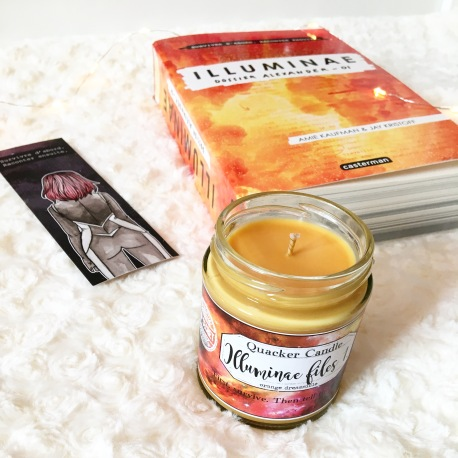Quacker Candle - Bougie Illuminae files 1