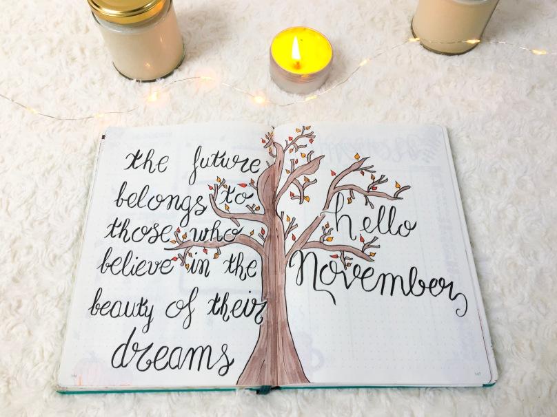 BUJO - Novembre 2018 - NOVEMBRE