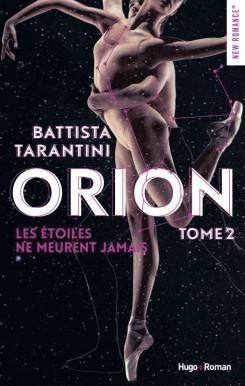 HUGO ROMAN - Orion tome 1 Les étoiles ne meurent jamais - Couverture - La page en folie