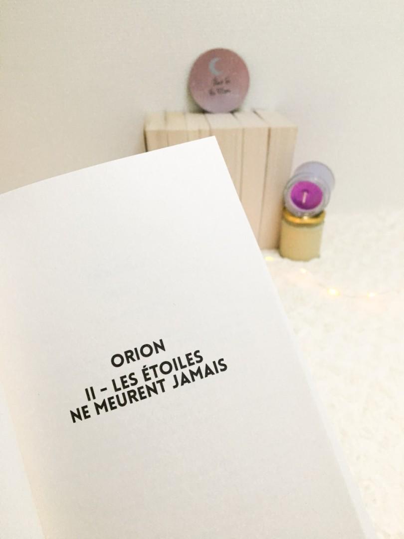 HUGO ROMAN - Orion tome 2 Les étoiles ne meurent jamais - Battista Tarantini