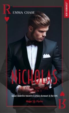 HUGO POCHE - Il était une fois, tome 1, Nicholas - Emma Chase - Couverture