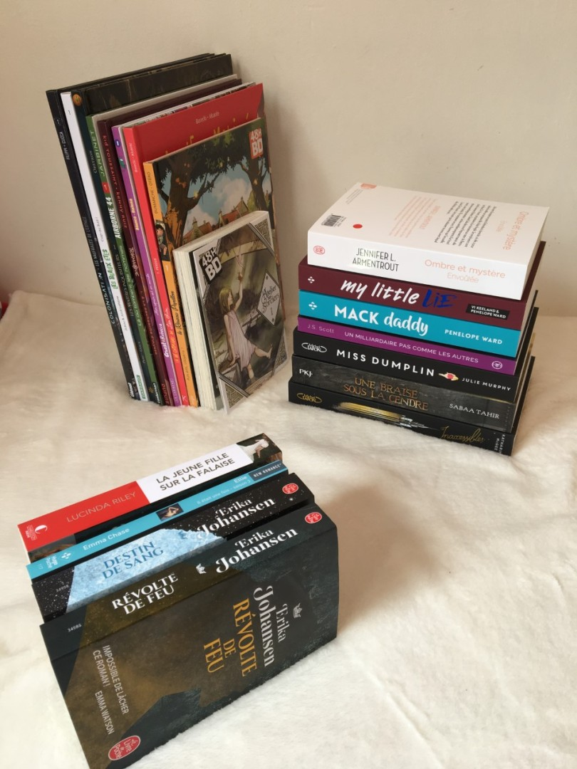 Bookhaul d'avril 2019