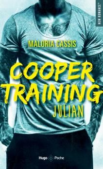 HUGO ROMAN - Cooper training tome 1 Julian - couverture - la page en folie