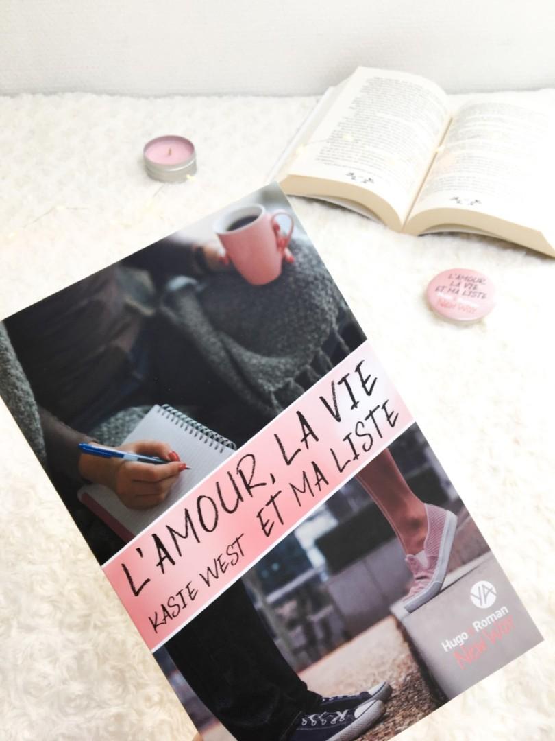 HUGO ROMAN - L'amour, la vie et ma liste - Kasie West
