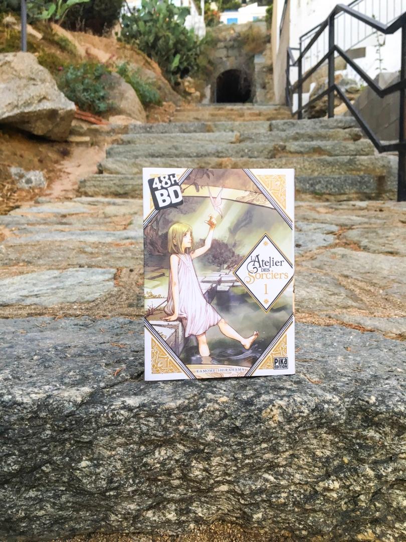 PIKA - L'atelier des sorciers, tome 1 - La page en folie