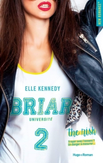 HUGO ROMAN - Briar Université, tome 2 The Risk - Elle Kennedy - Couverture - La page en folie