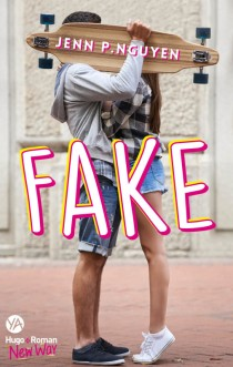 HUGO ROMAN - Fake - Couverture - La page en folie