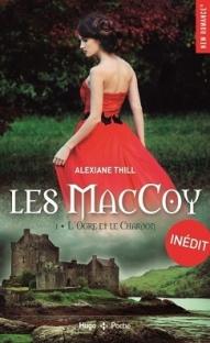 HUGO ROMAN - Les MacCoy, tome 1 L'Ogre et le Chardon - Couverture - La page en folie