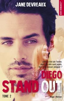 HUGO ROMAN - Stand out, tome 2 Diego - Couverture - La page en folie