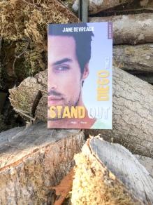 HUGO ROMAN - Stand out, tome 2 : Diego - Jane Devreaux - La page en folie