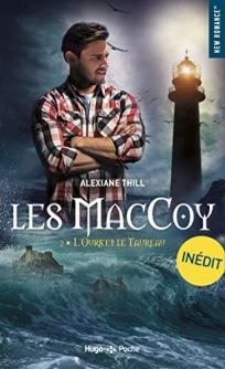 HUGO ROMAN - Les MacCoy, tome 2 : l'Ours et le Taureau - Couverture - La page en folie
