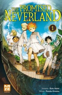 KAZE - The promised neverland, tome 1 - Couverture - La page en folie.jpg