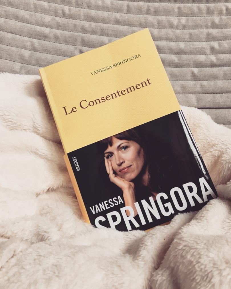 GRASSET - Le consentement - Vanessa Springora - La page en folie