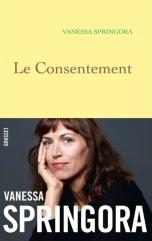 GRASSET - Le consentement - Couverture - Vanessa Springora - La page en folie